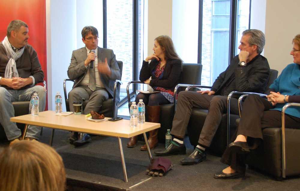Alain Boisvert, Denis Desgagné, Sylvie-Anne Jeanson, Glenn O'Farrell, Dominique Millette.