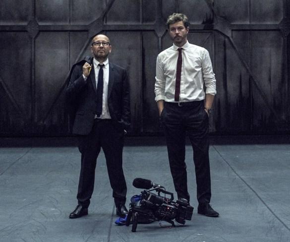 Les réalisateurs du film «Relève», Thierry Demaizière et Alban Teurlai.