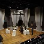 La comédie The Wedding Party est la première pièce présentée par Crow dans son propre théâtre.