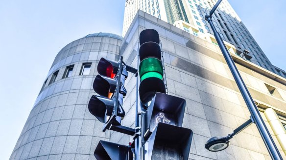 feux de circulation rouge vert