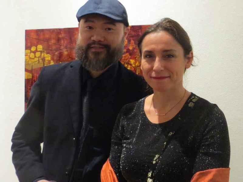 Exposition WW Hung et Marie-Do Hyman-Boneu à l'Alliance française jusqu'au 4 février.