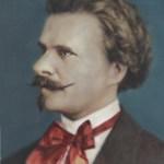 Eduard Strauss, «le bel Edi», chef d'orchestre et compositeur (1835-1916).