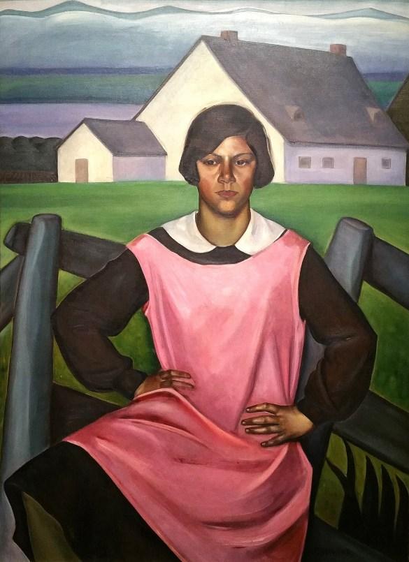 Prudence Heward, Rollande, 1929, huile sur toile, 139.9 x 101.7 cm. Acheté en 1930, Musée des beaux-arts du Canada, Ottawa. (Photo: MBAC.)