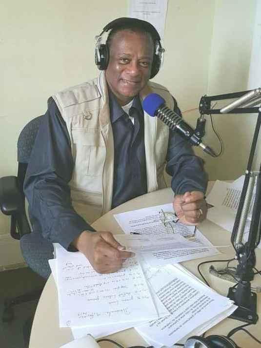 Éric Cader, producteur et animateur de l'émisson Pot-pourri à la radio CIUT FM.