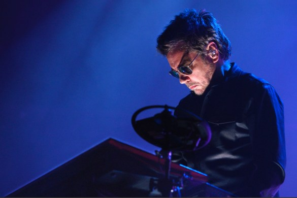 Jean-Michel Jarre (Photo: Chantal Dervey)