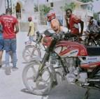 Des jeunes Haïtiens.