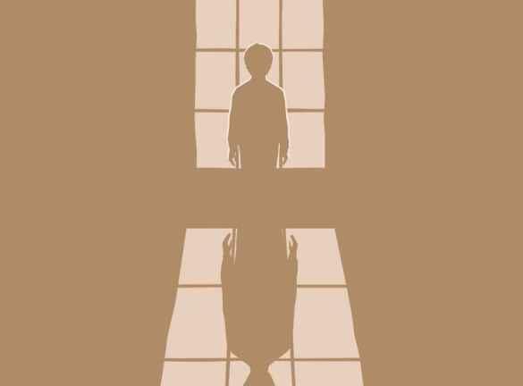 Affiche de la pièce de Théâtre Illusions. Première : Le 21 Avril au Crows Theatre de Leslieville.