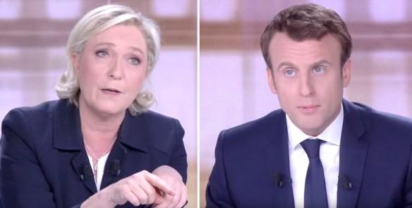 Marine Le Pen et Emmanuel Macron se sont affrontés mercredi soir à la télévision.