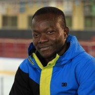 Elvis Roland, le patinage comme outil d'intégration. (Photo: Radio-Canada/Jean-François Benoit)