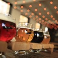 Les bières de Stéphane Dubois de Toronto. (Photo : Radio-Canada/Jean-François Benoit)