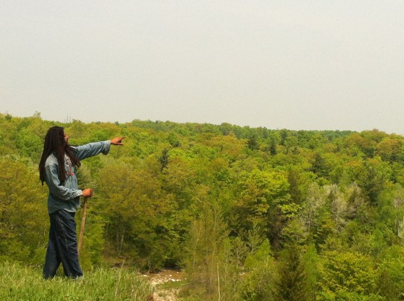 Jean-Paul, du documentaire The Land Owns You. (Photo: Sarah Kravetz)