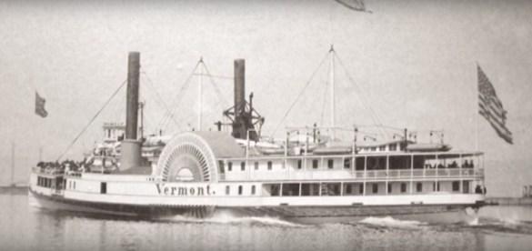 Le cannonier USS Spitfire a coulé dans le lac Champlain en 1776 après seulement deux mois de service contre les Britanniques. (Photo: Youtube - http://bit.ly/2rvxvvK)