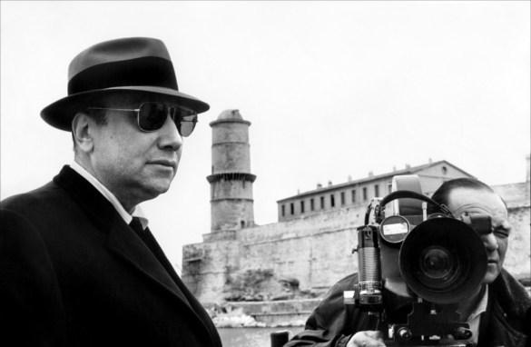 Le cinéaste français Jean-Pierre Melville.