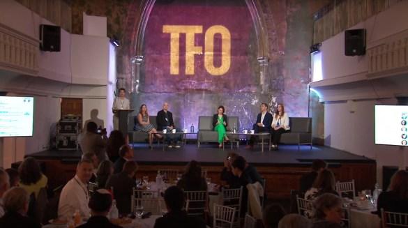Cette première conférence «Pop Up» de TFO avait lieu dans une ancienne église.