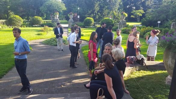 La réception du 14 juillet avait lieu au manoir du campus Glendon.