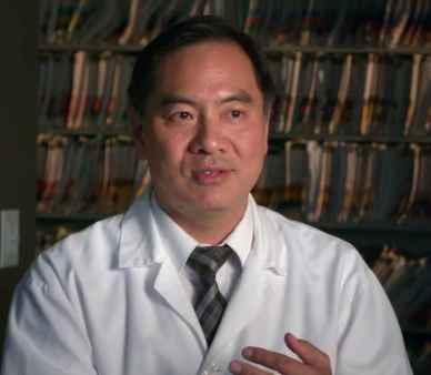 Le Dr Peter Lin de l'Université de Toronto.