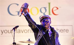"Mos Def performs during the ""Discover Music!"" event …"
