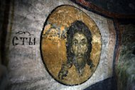 Photo illustration of an icon of Jesus Christ dating back to the early 11th century, in Sofia, Bulgaria. Some early Christians believed Jesus himself wed, a Harvard professor told the 10th International Congress of Coptic Studies, the Harvard Gazette reported