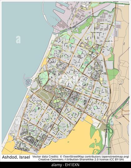 map of ashdod