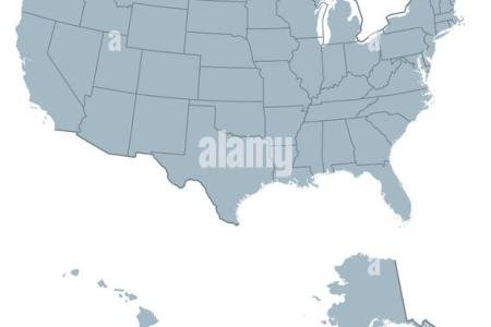 united states map alaska and hawaii stock photos & united