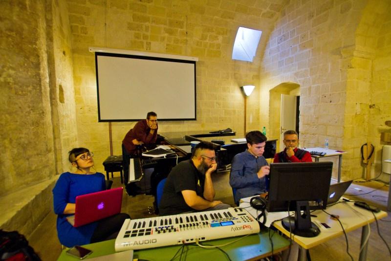 Conservatorio E. Duni, lavorando...