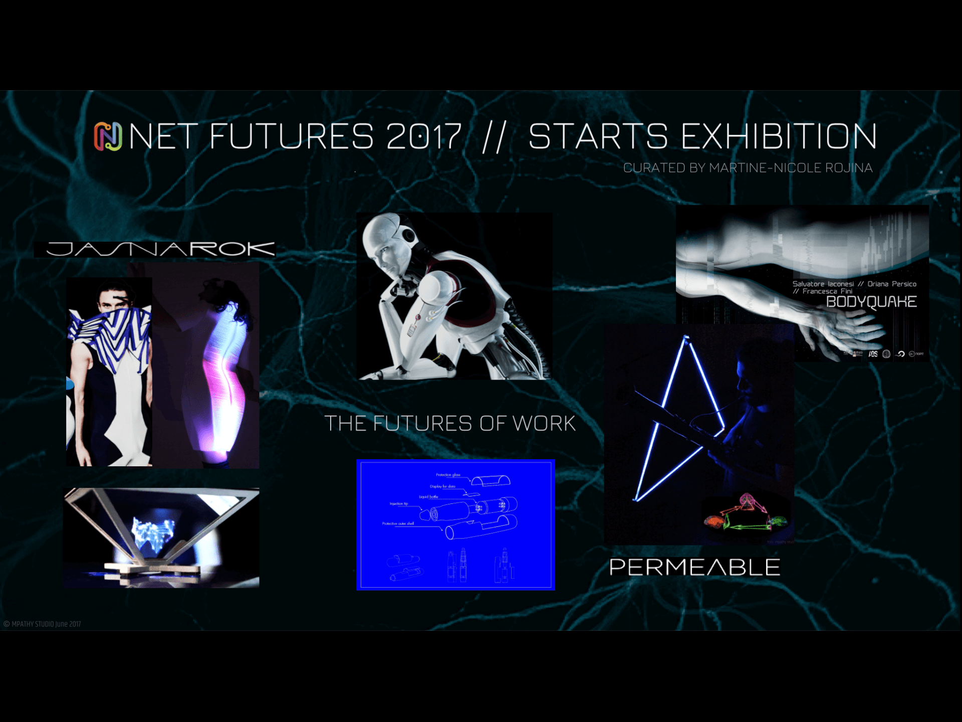 Stars Exhibit, NetFutures2017