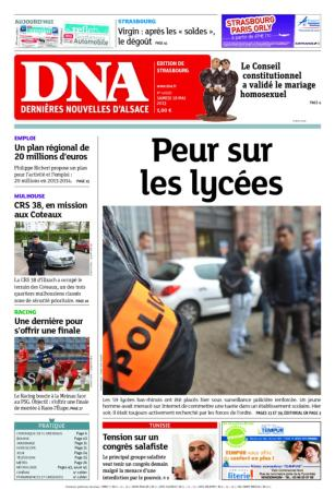 peur sur les lyces dna 180513