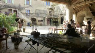 Stage à La Vaumane dans la Drôme