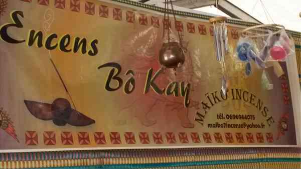La boutique Maïko Incense, Petite Anse, Martinique