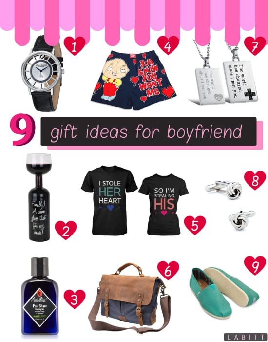 9 great gift ideas for your boyfriend labitt for Best gifts for boyfriend birthday