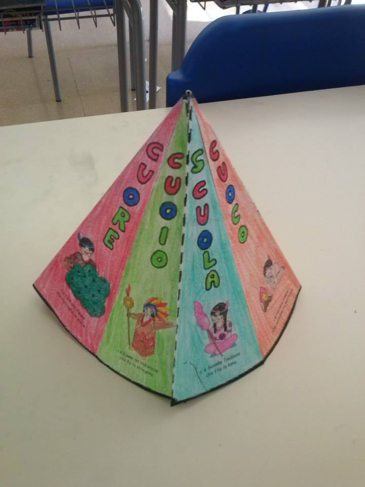 Ho pensato un minibook la tenda degli indiani cuc for Maestra carmelina classe seconda