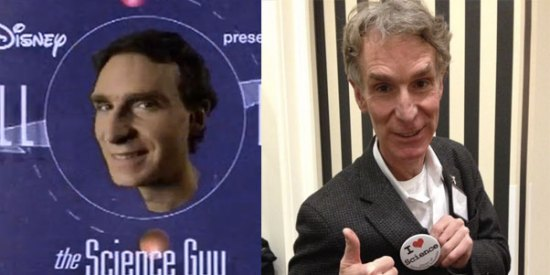 "The show ""Bill Nye the Science Guy"" is almost twenty years old"