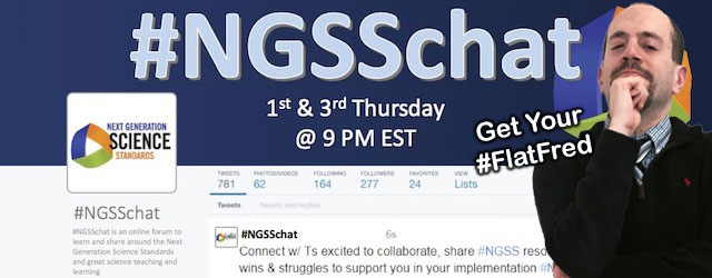 Follow #NGSSChat on Twitter