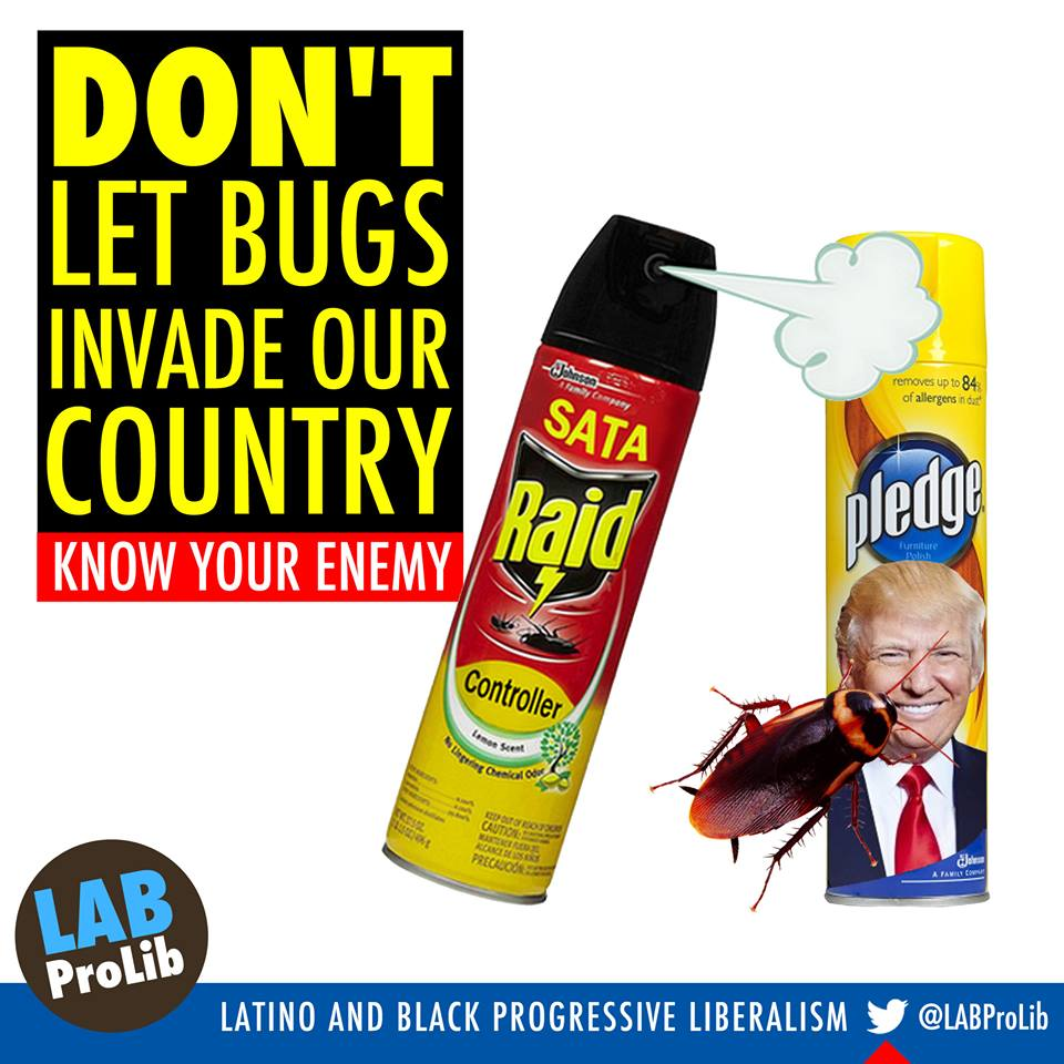 Don't Let Bugs Invade Our Country