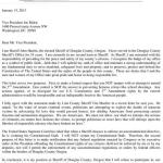 Read the Letter the Douglas County Sheriff Wrote About Gun Control Two Years Ago