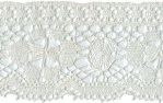 2 1/2'' Antique White Cotton Lace2 1/2'' Antique White Cotton Lace