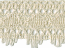 1 3/8'' Cream Cotton Cluny Lace1 3/8'' Cream Cotton Cluny Lace