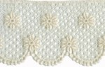 1 7/8'' Cream Cotton Venice Lace Trim1 7/8'' Cream Cotton Venice Lace Trim