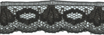 5/8'' Black Lace Trim5/8'' Black Lace Trim
