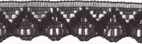 9/16'' Black Lace Trim9/16'' Black Lace Trim