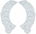 7'' by 3 1/2'' Collar Set Applique - 3 Colors7'' by 3 1/2'' Collar Set Applique - 3 Colors