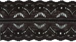 1 5/8'' Black Lace Trim1 5/8'' Black Lace Trim