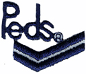 1'' by 7/8'' Peds Iron On Applique1'' by 7/8'' Peds Iron On Applique
