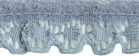 3/4'' Light Blue Gathered Lace3/4'' Light Blue Gathered Lace