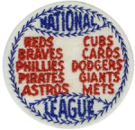 2 3/4'' - 7cm - National League Patch - Blue, Red2 3/4'' - 7cm - National League Patch - Blue, Red