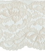 5'' Light Beige Lace with Selvage on 1 Side5'' Light Beige Lace with Selvage on 1 Side
