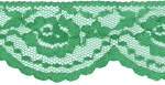 2 1/8'' Christmas Green Lace2 1/8'' Christmas Green Lace