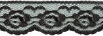 1 1/4'' Black Lace Trim1 1/4'' Black Lace Trim