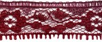 3/4'' Burnt Wine Lace Trim3/4'' Burnt Wine Lace Trim