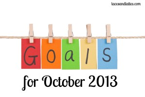 September Goal Checkin and Five More!
